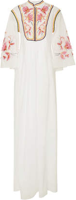 Ermanno Scervino Embroidered Pleated Kaftan