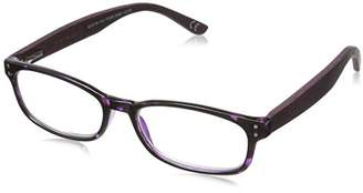 Foster Grant Women's Bernadette 1017561-200.COM Wayfarer Reading Glasses