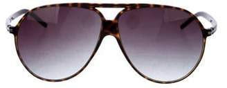 Christian Dior Aviator Gradient Sunglasses brown Aviator Gradient Sunglasses