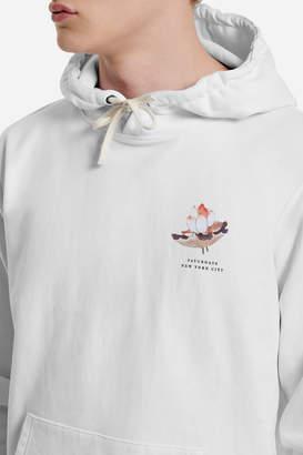 Saturdays NYC Ditch Lotus Flower Hooded Sweatshirt