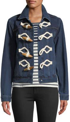 J.W.Anderson Toggle-Front Selvedge Cotton Denim Jacket