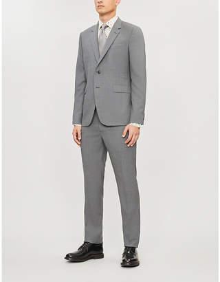 Regular-fit wool suit