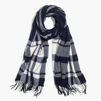 J.Crew Factory Classic plaid scarf