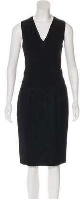 CNC Costume National C'N'C Wool Midi Dress