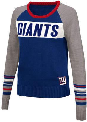 Touch By Alyssa Milano Women's New York Giants Team Spirit Sweater
