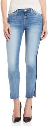 Flying Monkey Tuxedo Stripe Mid-Rise Skinny Jeans
