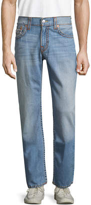 True Religion Flap Old Multi Big T Straight Fit Pant