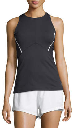 Under Armour Mirror Cross-Back Fitted Performance Tank Top $54.99 thestylecure.com