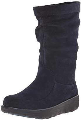 FitFlop Women's Loaff Slouchy Knee Suede Slouch Boot