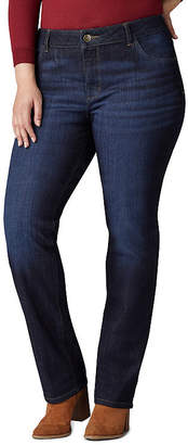 Lee Iconic Mid Rise Straight Leg Jean- Plus
