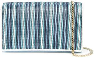 Diane von Furstenberg striped shoulder bag