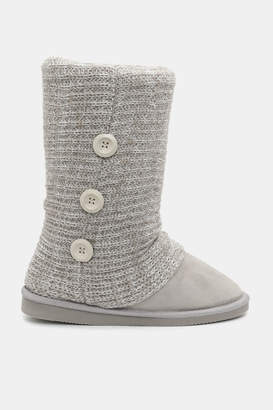 Ardene Tall Cable Knit Boots