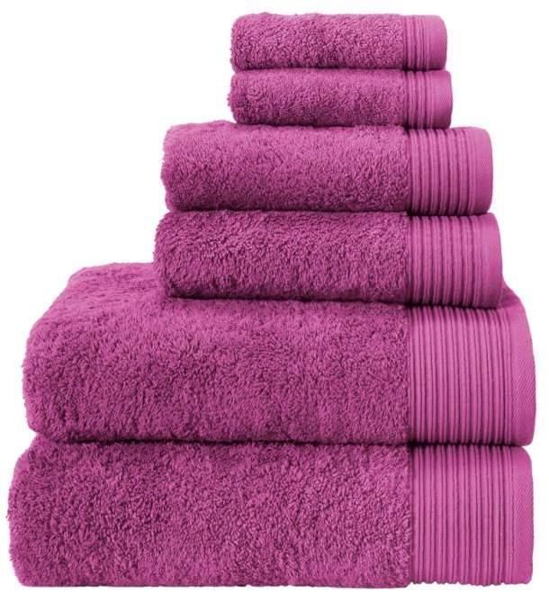 Turko Textile LLC dba Enchante Home Flossy Turkish Cotton 6-piece Towel Set
