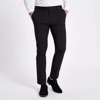 River Island Black skinny fit suit pants