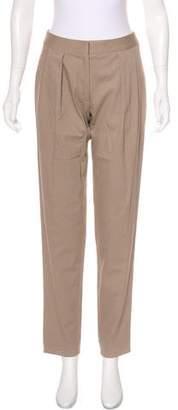 Devi Kroell Mid-Rise Straight-Leg Pants w/ Tags