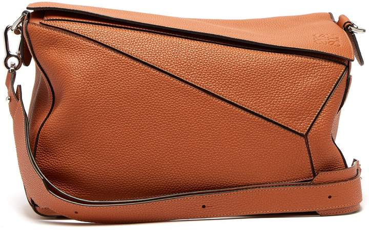 LOEWE Puzzle XL grained-leather bag