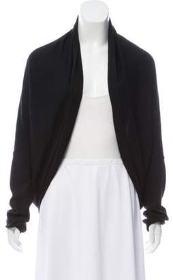 Wolford Virgin Wool Open-Front Cardigan w/ Tags