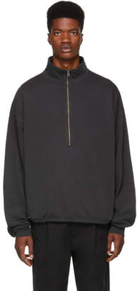 Wonders Black Half-Zip Pullover Sweater