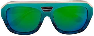 Dax Gabler multicoloured 'N°04' acetate sunglasses