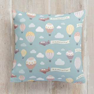 Oh the Places You'll Go! Square Pillow