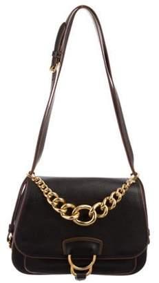 Miu Miu Leather Crossbody Bag Black Leather Crossbody Bag