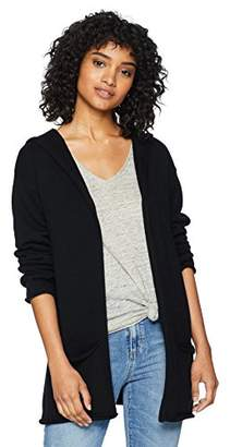 Cable Stitch Women's Hooded Cardigan