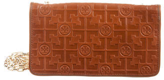 Tory Burch Tory Burch Logo-Embossed Wallet On Chain