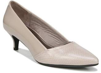LifeStride Marcy Snake Embossed Pump - Wide Width Available
