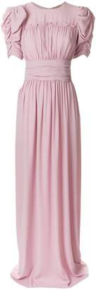 No.21 ruched gown