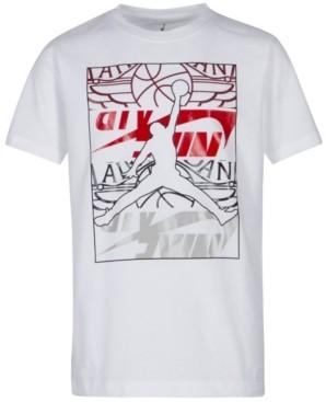 best service 3f811 d80be Jordan Little Boys Jumpman-Print Cotton T-Shirt