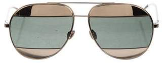 Christian Dior Split 1 Mirrored Sunglasses