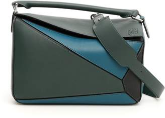 Loewe Multicolor Leather Puzzle Bag