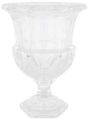Tiffany & Co. Etched Crystal Urn Vase