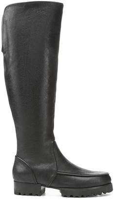 Donald J Pliner EVA, Distressed Tumbled Calf Leather Boot