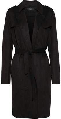 Line Margaux Faux Suede Trench Coat
