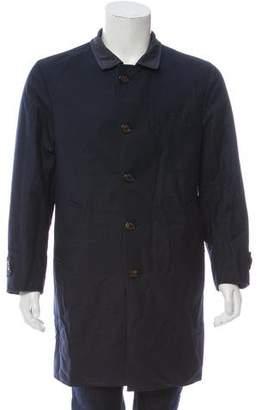 Brunello Cucinelli Reversible Wool Coat
