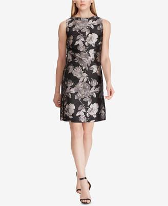 American Living Floral-Print Jacquard Dress