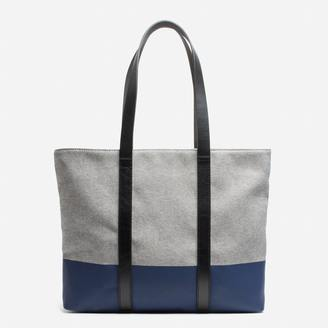 The Twill Zip Tote $60 thestylecure.com
