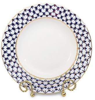 Imperial Porcelain Cobalt Net Porcelain Soup Plate