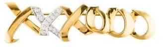 Tiffany & Co. Diamond Love & Kisses Brooch