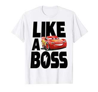 Disney Pixar Cars 3 McQueen Like A Boss Graphic T-Shirt C1