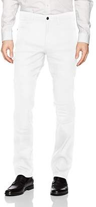 Cubavera Men's Linen-Blend 5-Pocket Pant with Stretch