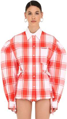 81e245de64a9a Women s Red And White Checked Shirt - ShopStyle