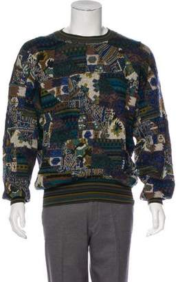 Missoni Wool & Mohair-Blend Intarsia Sweater
