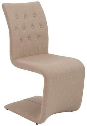 Euro Style Zad Side Chair, Set of 2