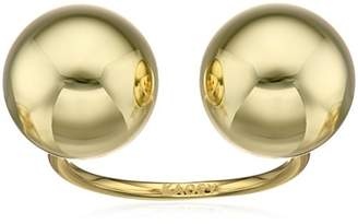 Kacey K Double Ball Ring