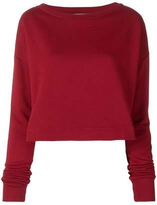 Marni cropped length sweatshirt