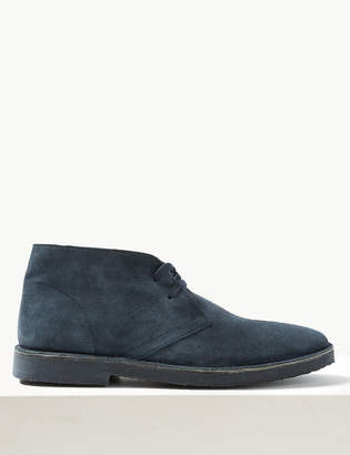 Marks and Spencer Suede Lace-up Desert Boots