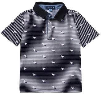 Andy & Evan Rocket Short Sleeve Polo (Toddler & Little Boys)