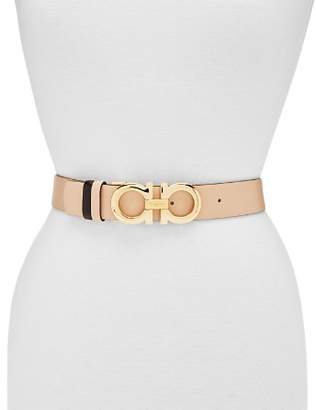 Salvatore Ferragamo Adjustable & Reversible Gancini Belt